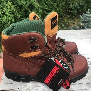 NEW Wolverine DuraShocks Work Boots Size 9M